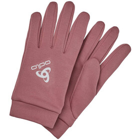 Odlo Stretchfleece Liner Warm Gants, roan rouge